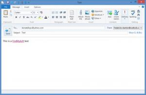 Enlarge Windows Live Mail Screenshot
