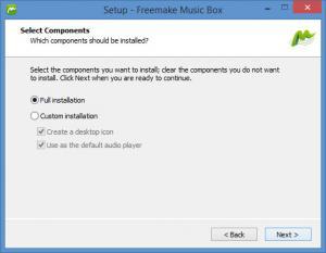Enlarge Freemake Music Box Screenshot