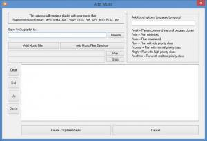 Enlarge AutoStarter Screenshot