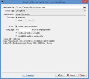 Enlarge ffDiaporama Screenshot