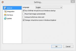 Enlarge DVDFab Virtual Drive Screenshot