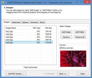 Enlarge Watermark Editor Screenshot
