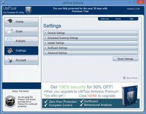 Enlarge UtilTools Antivirus Screenshot