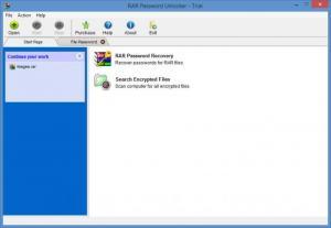 Enlarge RAR Password Unlocker Screenshot