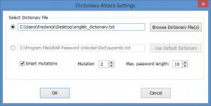 Enlarge RAR Password Unlocker Screenshot