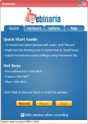 Enlarge Webinaria Screenshot