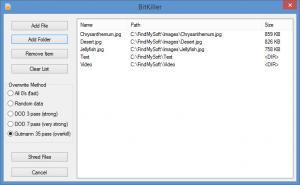 Enlarge BitKiller Screenshot