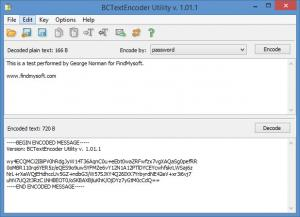 Enlarge BCTextEncoder Screenshot