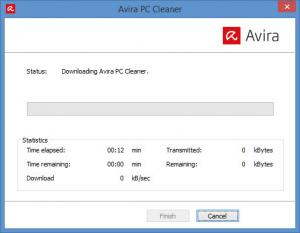 Enlarge Avira PC Cleaner Screenshot