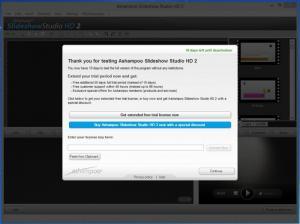 Enlarge Ashampoo Slideshow Studio Screenshot