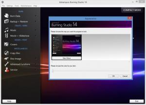 Enlarge Ashampoo Burning Studio Screenshot
