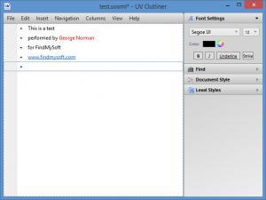 Enlarge UV Outliner Screenshot