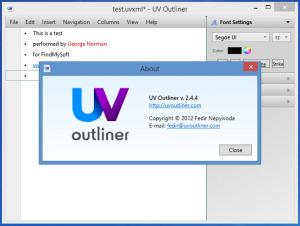 Enlarge UV Outliner Screenshot