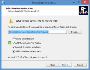 Enlarge QIP Shot Screenshot