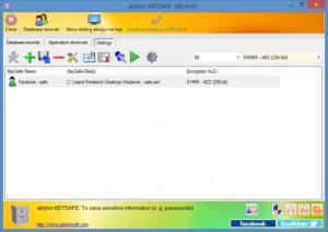 Enlarge abylon KEYSAFE Screenshot