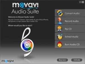 Enlarge Movavi Audio Suite Screenshot