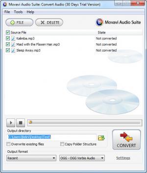 Enlarge Movavi Audio Suite Screenshot