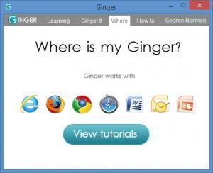 Enlarge Ginger Screenshot