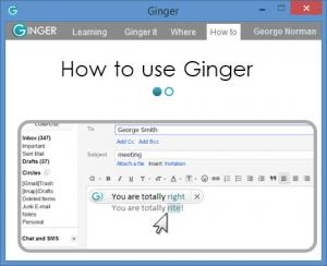 Enlarge Ginger Screenshot