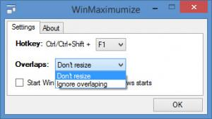 Enlarge WinMaximumize Screenshot