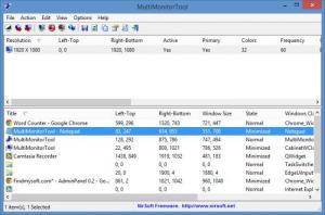 Enlarge MultiMonitorTool Screenshot