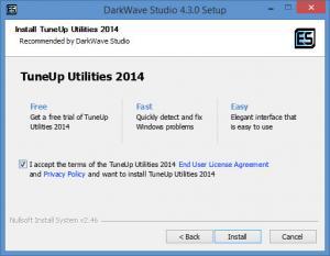 Enlarge DarkWave Studio Screenshot