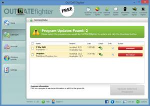 Enlarge OUTDATEfighter Screenshot