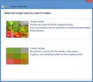 Enlarge Mosamic Screenshot