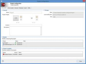 Enlarge Modelio Screenshot