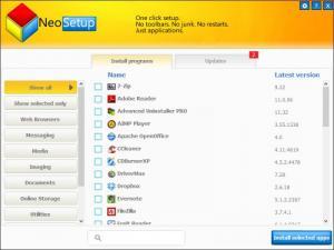 Enlarge NeoSetup Updater Screenshot