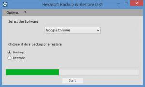 Enlarge Hekasoft Backup & Restore Screenshot