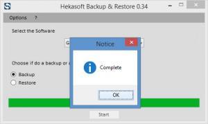 Enlarge Hekasoft Backup & Restore Screenshot