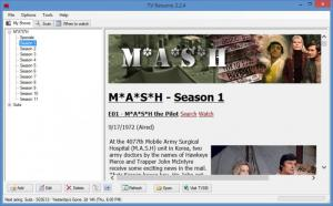 Enlarge TVRename Screenshot