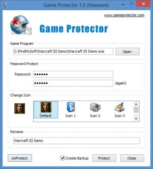 Enlarge Game Protector Screenshot