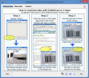 Enlarge bcWebCam Screenshot