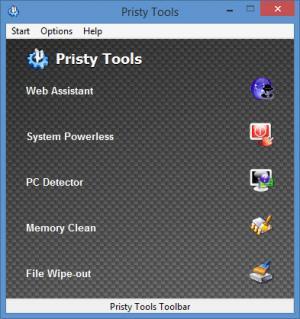 Enlarge Pristy Tools Screenshot