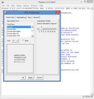 Enlarge Python Screenshot