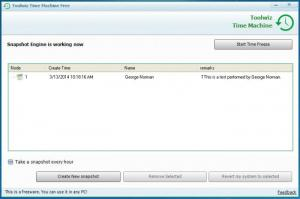 Enlarge ToolWiz Time Machine Screenshot