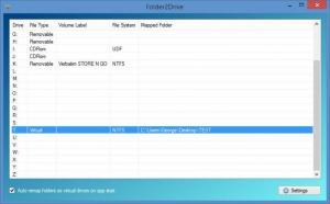 Enlarge Folder2Drive Screenshot