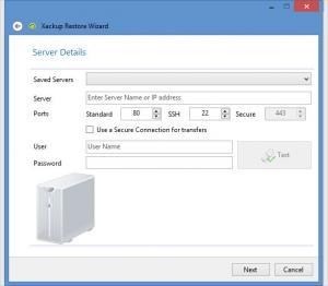 Enlarge Xackup Screenshot