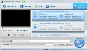 Enlarge WonderFox DVD Ripper Screenshot
