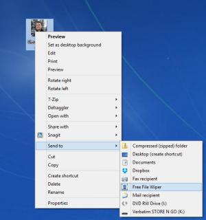Enlarge Free File Wiper Screenshot