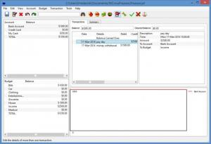 Enlarge JXCirrus Finance Screenshot