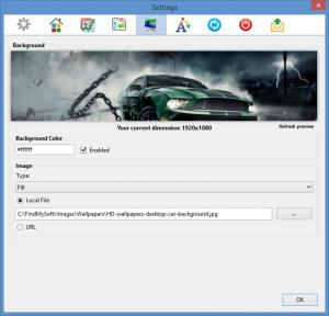 Enlarge FVD Speed Dial Screenshot