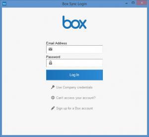 Enlarge Box Sync Screenshot