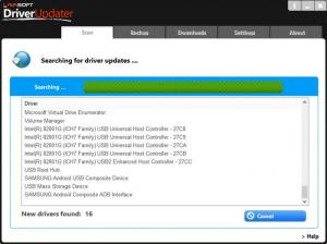 Enlarge Lavasoft Driver Updater Screenshot