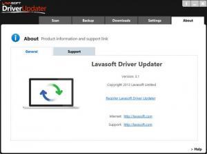 Enlarge Lavasoft Driver Updater Screenshot