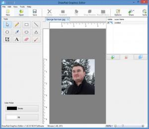 Enlarge DrawPad Graphic Editor Screenshot
