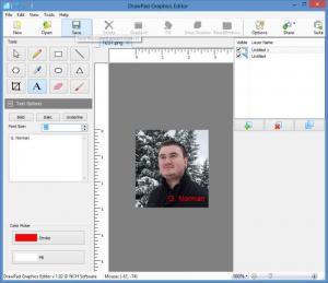Enlarge DrawPad Graphic Editor Screenshot