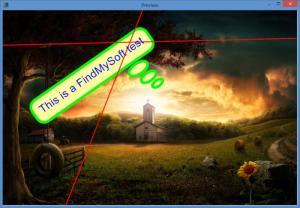 Enlarge FotoBeschriften Screenshot